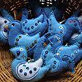 Feutrine : Les oiseaux bleus