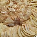 Tarte pomme cannelle