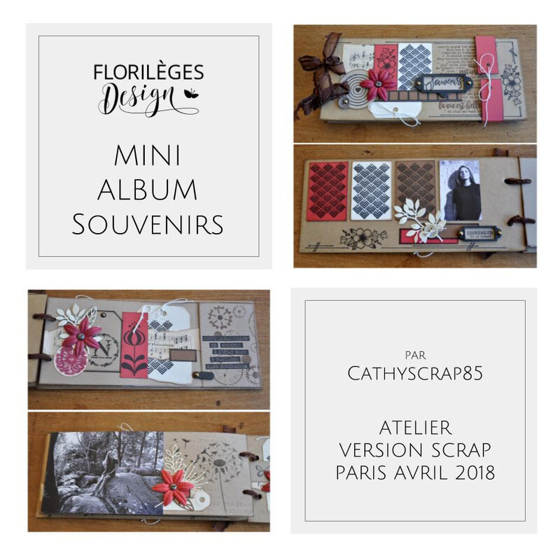 MINI ALBUM CATHY ATELIER VS 2018