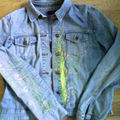 Customiser une veste en jean