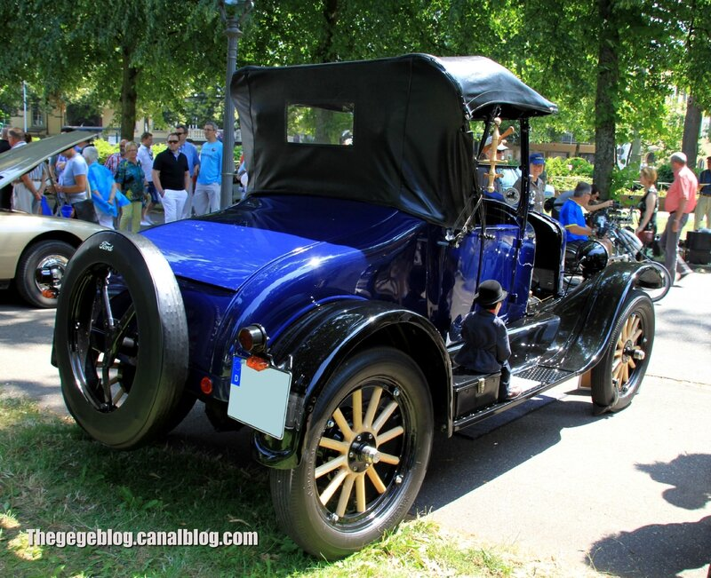Ford model T runabout de 1925 (37ème Internationales Oldtimer Meeting de Baden-Baden) 02