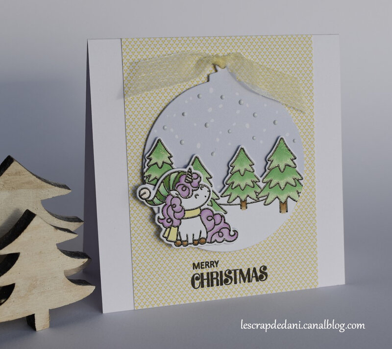 Dani carte3 Christmas Unicorns Maxime 19