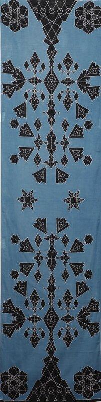 arbre de byzance bleu et noir