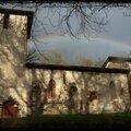 Arc en ciel sur le vieux lugo ... merci madame la pluie !