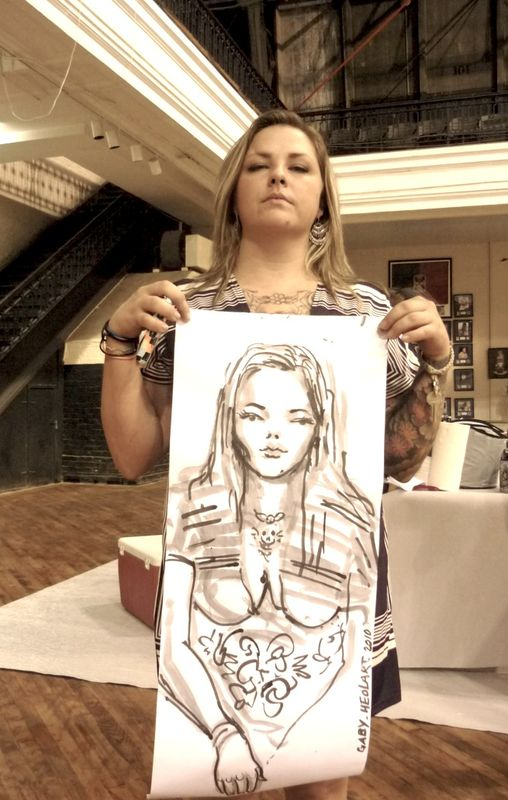 portrait d artiste, art show, new york city, usa