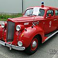 Packard six touring sedan 4door feuerwehr-1938