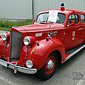 Packard six touring sedan 4door feuerwehr-1938