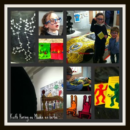 Keith haring collage