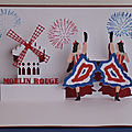 Moulin rouge..kirigami et 3d
