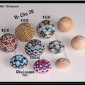 Nouvelles beaded beads