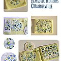 Carnet couture marimerveille Escargot du printemps 2