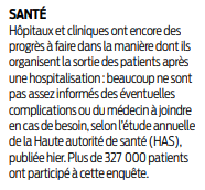 2018 12 11 SO Sortie des patients