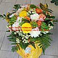 Livraison de fleurs deuil et obsèques, sur pargny sur saulx et vitry le françois et environs.