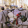 Marché des biffins de montreuil organisé par amelior - reportage de france 3