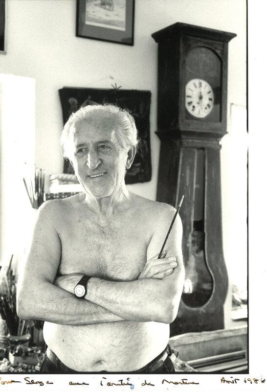 Henri Cartier-Bresson au dessin (2).