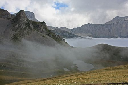 Lac Lauzon brume