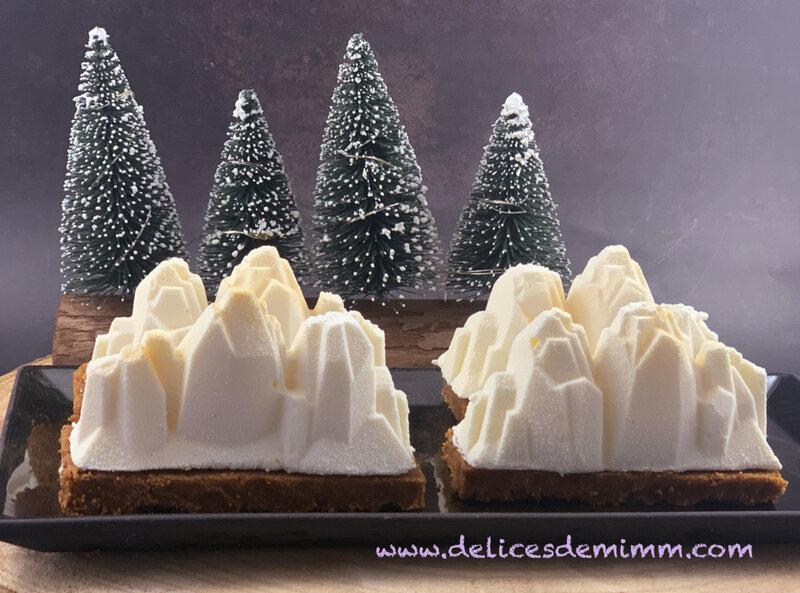 Bûches de Noël individuelles façon cheesecake (sans cuisson) 2