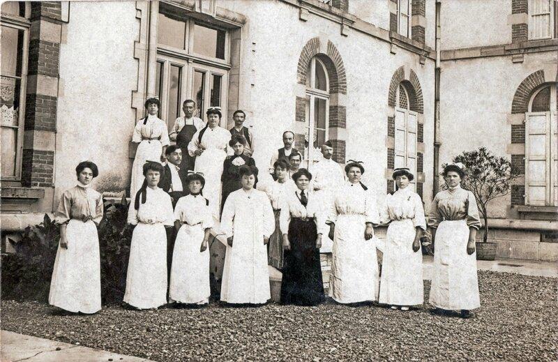 CPhoto Belfort Infirmières 1912