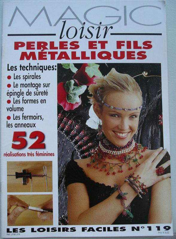 Magic loisir - Perles et fils métalliques