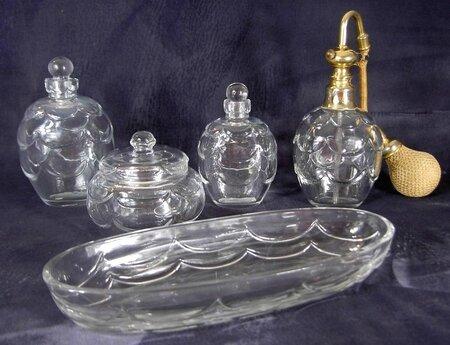 art deco ensemble parfum