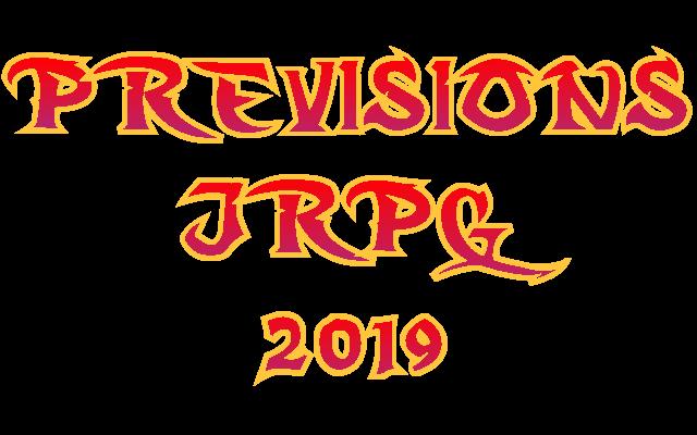 Prévisions JRPG 2019