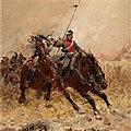 Beauquesne charge de cavalerie