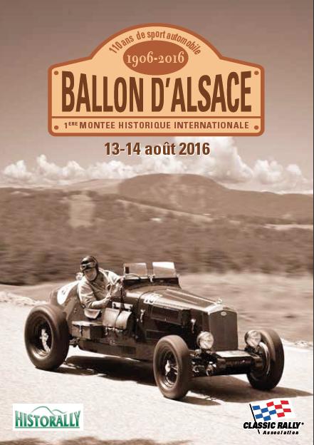 1ère Montée Historique Ballon d'Alsace (Affiche)