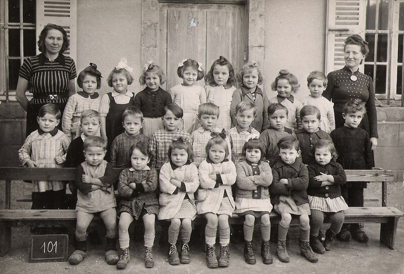 ORGELET 1944 Ecole maternelle