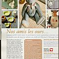 Quelques uns de mes travaux sur le blog de marie claire idées (some of my artcrafts produces in women's magazine)