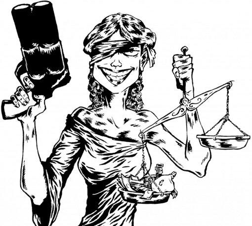 justice cartoon