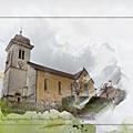 Eglise de labergement-sainte-marie (doubs)