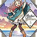 |manga| l'atelier des sorciers, tome 5 de kamome shirahama