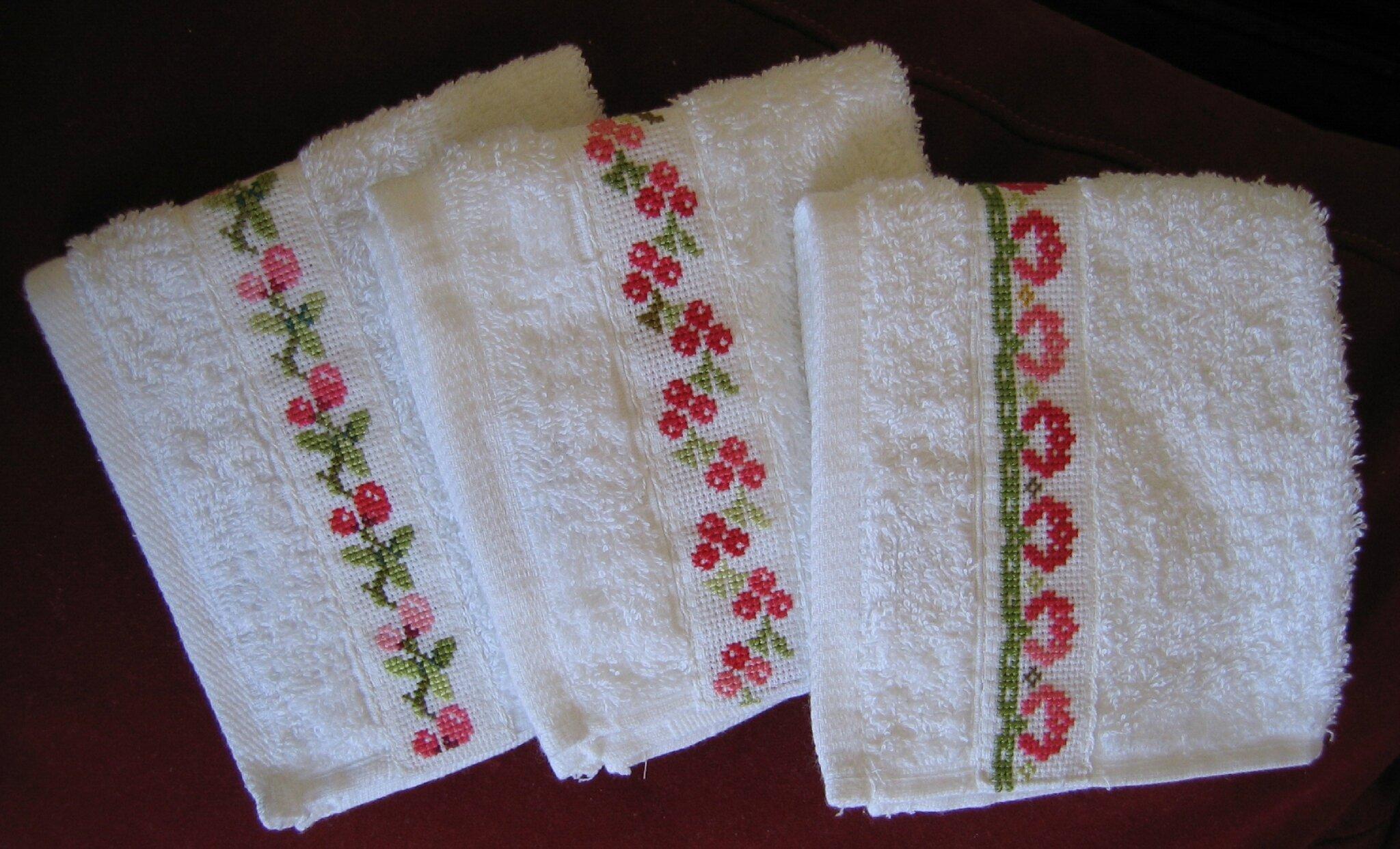serviettes à main