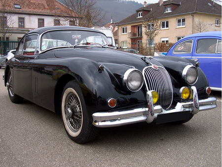 JAGUAR XK 150 Coupe Bourse Echanges Auto Moto de Chatenois 2009 1