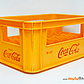 Objet vintage ... casier coca-cola * 24 compartiments