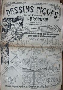 Dessins piqués n° 299 - 15 août 1925 (1)