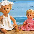 Pour poupées de 30 a 50 cm