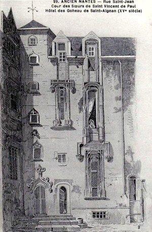 Ancien Nantes - Rue Saint-Jean