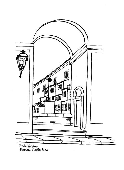 160806_03 Ponte Vecchio, Florence