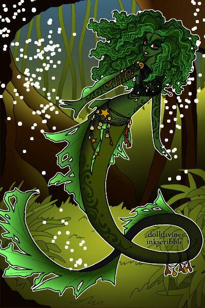Neptunes-Daughter-DollDivine green