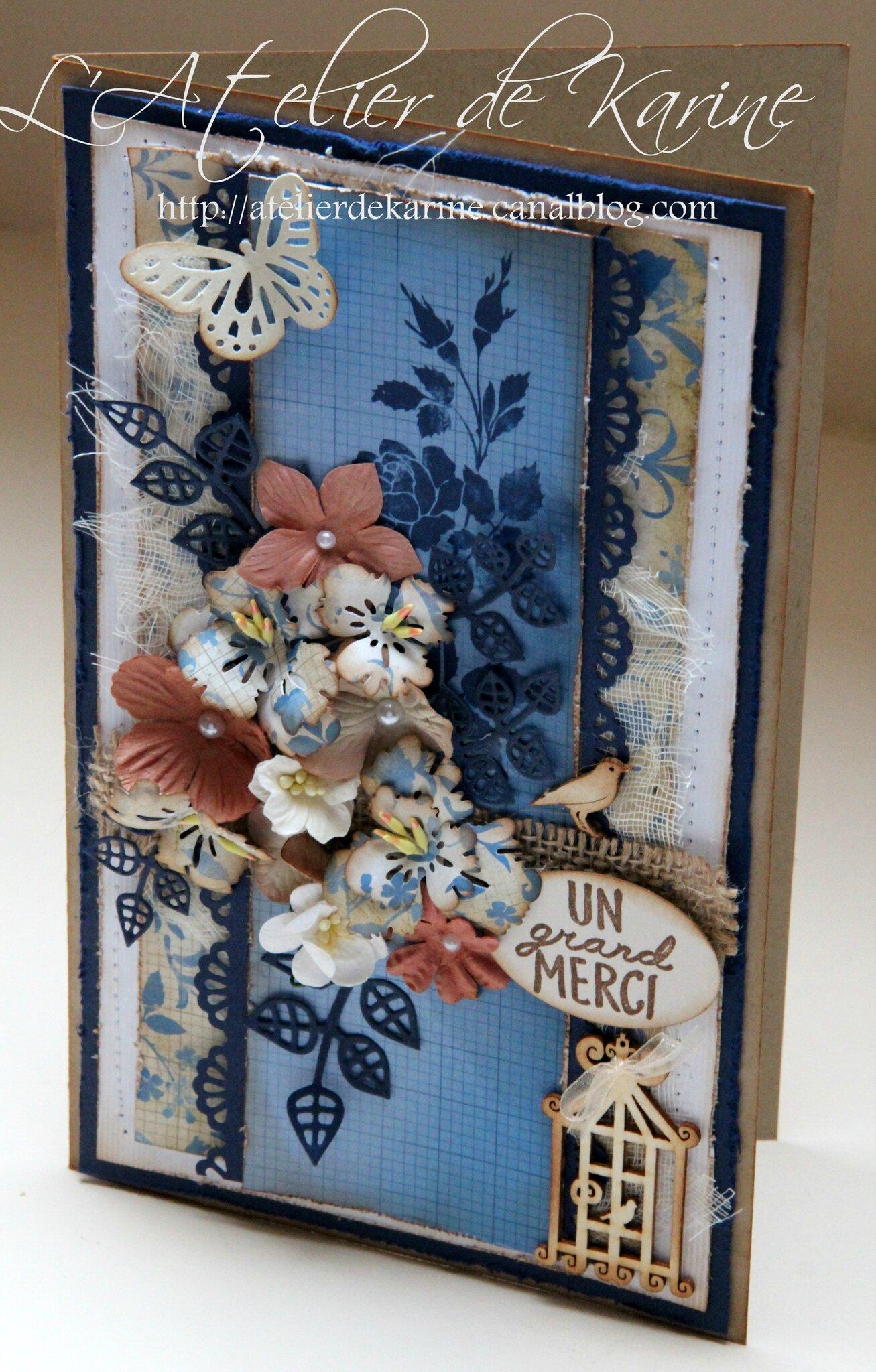 carte shabby bleu 3