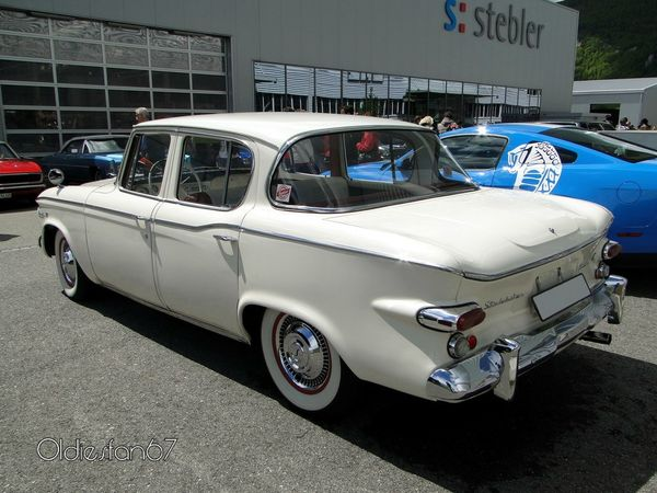 studebaker lark VI cruiser 4door sedan 1961 b