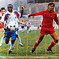 17 novembre 1990 ALBANIE-FRANCE ... MATCH QUALIFICATIF POUR CHAMPIONNAT D'EUROPE 1992