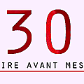 30 choses à faire avant mes 30 ans