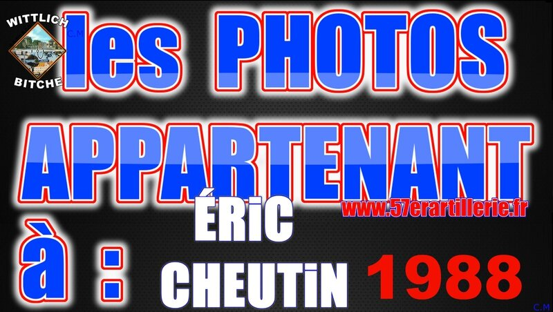 les PHOTOS APPARTENANT à ERiC CHEUTiN