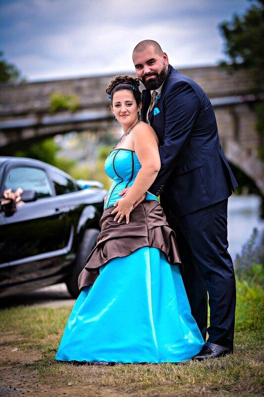 Mariage gourmand turquoise chocolat
