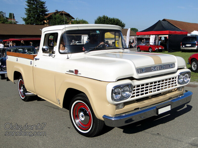 Ford F-100 Custom Cab-1959-01