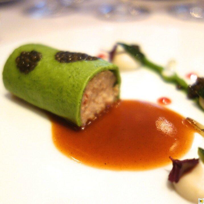 L'araignée de mer et le caviar (2)