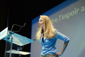 Marion Maréchal-Le Pen tribune UDT 2012