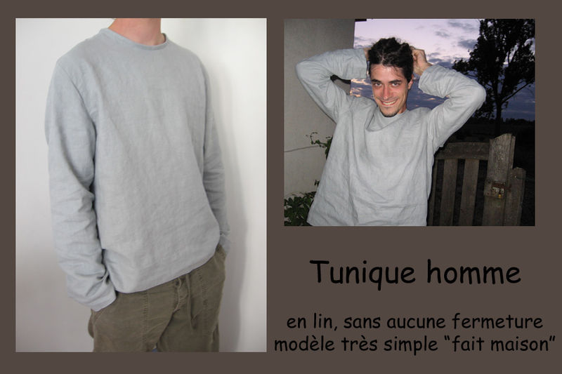 tunique simplissime Alex